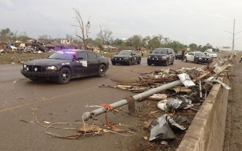 Oklahoma City Crews Plan Cleanup for Tornado Damage