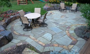 Transform Your Outdoor Living Area with a Natural Stone Patio