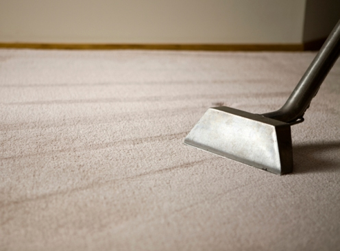 This is a shallow DOF and copy space of shag rug.