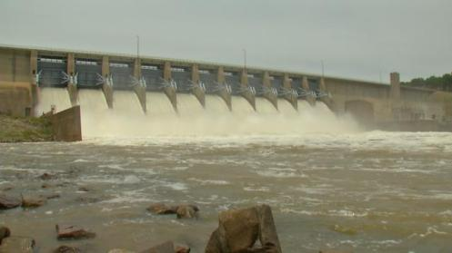 Governor Fallin Approves Funds for Repairing Flood Control Structures
