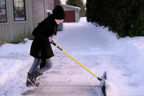 How to Fix an Icy Driveway